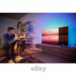 Philips TPVision 50PUS6814 50 Inch TV Smart 4K Ultra HD Ambilight LED Freeview