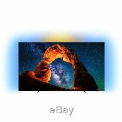 Philips TV 65OLED803/12 OLED803 65 Inch 4K Ultra HD B Smart OLED TV 4 HDMI
