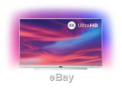 Refurbished Philips 55 Inch 55PUS7334 Smart 4K HDR Ultra HD Ambilight LED TV UK