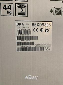 SONY 65XD9305 65 Inch 4K UHD Ultra HD 3D Smart TV
