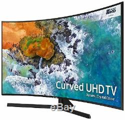 Samsung 65NU7500 65 Inch Curved 4K Ultra HD HDR Smart WiFi LED TV Black