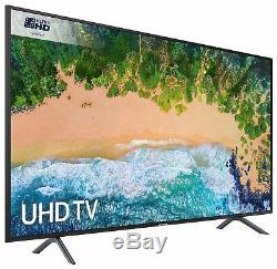 Samsung 75NU7100 75 Inch 4K Ultra HD Smart WiFi LED TV Black