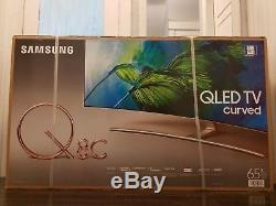 Samsung CURVED 65-Inch 4K Ultra HD (QLED) Smart TV QN65Q8C 2017 Model