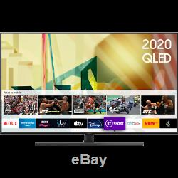 Samsung QE55Q70TA Q70T 55 Inch Smart 4K Ultra HD QLED Freeview HD and Freesat