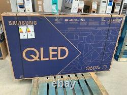 Samsung QE75Q60TA Q60T 75 Inch Smart 4K Ultra HD QLED Freeview HD #LF25318