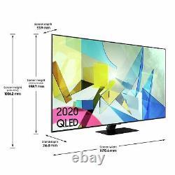 Samsung QE75Q80TATXXU 75 Inch 4K Ultra HD Smart WiFi QLED TV Black