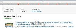 Samsung UE40NU7120 40-Inch 4K Ultra HD Certified HDR Smart TV Charcoal Black