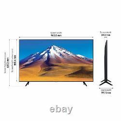 Samsung UE43TU7020KXXU 43 Inch Smart 4K Ultra HD HDR LED TV