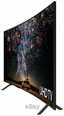 Samsung UE49RU7300KXXU 49 Inch 4K Ultra HD HDR Smart WiFi LED Curved TV Black