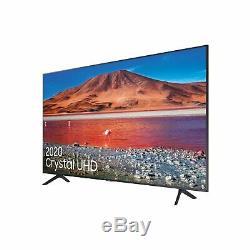 Samsung UE50TU7100 50 Inch 4K Ultra HD HDR Smart WiFi TV Black