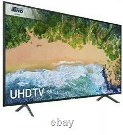 Samsung UE55NU7100 55-Inch 4K Ultra HD Certified HDR Smart TV Charcoal Black