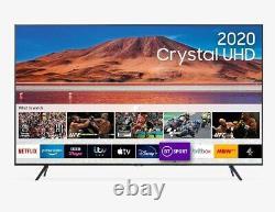 Samsung UE65TU7100K 65 Inch SMART 4K Ultra HD HDR TV Silver C Grade