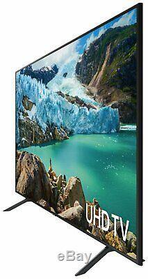 Samsung UE75RU7100KXXU 75 Inch 4K Ultra HD HDR Smart WiFi LED TV Black