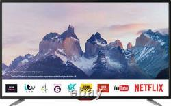 Sharp 50 Inch Smart 4K Ultra HD HDR LED TV Freeview Play Netflix