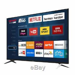 Slim Design Aquos Net Plus Wireless 60 inch 4K Ultra HD Thin Edge Smart LED TVs