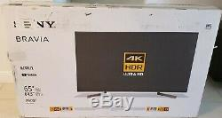 Sony Bravia 65 Inch TV 4K Ultra HD Smart LED TV with HDR Ultra HD $1400 Value