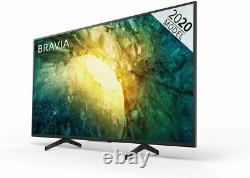 Sony KD49X7052PBU 49 Inch 4K Ultra HD HDR Smart LCD TV Black