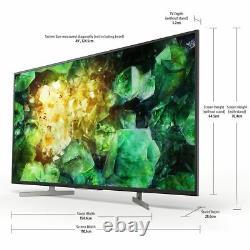 Sony KD49XH8196BU Bravia XH81 49 Inch TV Smart 4K Ultra HD LED Freeview HD 4
