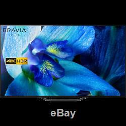Sony KD65AG8BU 65 Inch TV Smart 4K Ultra HD OLED Freeview HD 4 HDMI Dolby