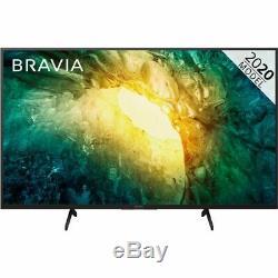 Sony KD65X7052PBU Bravia X70 65 Inch TV Smart 4K Ultra HD LED Freeview HD 3