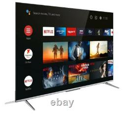 TCL 43P715K 43 Inch Ultra Slim 4K HDR Smart Android TV Wi-Fi & 2 Year Warranty