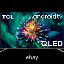 TCL 50C715K 50 Inch TV Smart 4K Ultra HD QLED Freeview HD 3 HDMI Dolby Vision