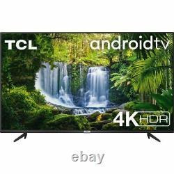 TCL 50P615K 50 Inch TV Smart 4K Ultra HD LED Freeview HD