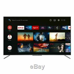 TCL 55 Inch QLED 4K Ultra HD Smart Android TV 5 YEAR WARRANTY LARGE TV