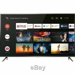 TCL 65EP658 65 Inch TV Smart 4K Ultra HD LED Freeview HD 3 HDMI Bluetooth Slim