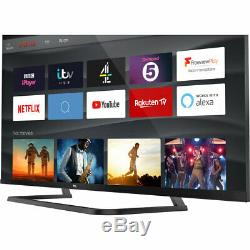 TCL 65EP668 EP668 65 Inch TV Smart 4K Ultra HD LED Freeview HD 3 HDMI Bluetooth
