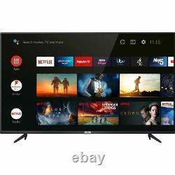 TCL 65P615K 65 Inch TV Smart 4K Ultra HD LED Freeview HD