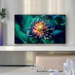 TCL Smart QLED Android TV 65 Inch 4K Ultra HD Ultra Slim Frameless 65C715K Black