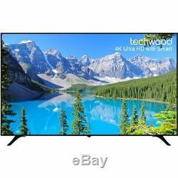 Techwood 75AO7USB 75 Inch 4K Ultra HD A+ Smart LED TV 3 HDMI