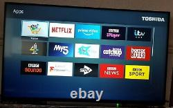 Toshiba 43UL5A63DB 43-Inch Smart 4K Ultra-HD HDR LED TV with Freeview Play 2019
