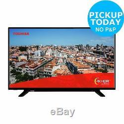 Toshiba 49 Inch 49U2963DB 4K Ultra HD HDR Bluetooth WiFi Smart LED TV