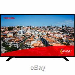 Toshiba 49U2963DB 49 Inch TV Smart 4K Ultra HD LED Freeview HD 3 HDMI Dolby