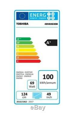 Toshiba 49V6863DB 49 Inch 4K Ultra HD Smart TV BRAND NEW & SEALED