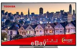 Toshiba 55UL3B63DB 55 Inch Smart 4K Ultra HD LED TV HDR Alexa Freeview Play