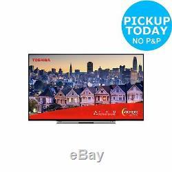 Toshiba 55UL5A63DBS 55 Inch 4K Ultra HD HDR Smart Alexa WiFi LED TV Silver