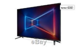 40 Pouces De Sharp 4k Ultra Hd Hdr Led Smart Tv Netflix Usb Hdmix3