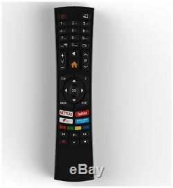Bush 43 Pouces Intelligent 4k Ultra Hd Hdr Freeview Tv Led Jouer Hd