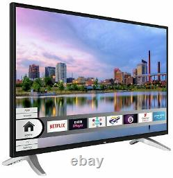 Bush Dled40uhdhdrs 40 Pouces Freeview Hd 4k Ultra Hd Hdr Led Wifi Smart Tv