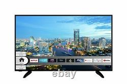 Bush Dled50uhdhdrrs 50 Pouces 4k Ultra Hd Hdr Smart Wifi Led Tv Noir