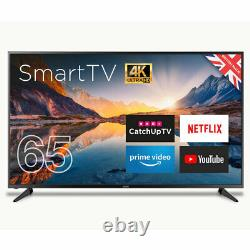 Cello C65rts4k 65 Pouces Smart 4k Ultra Hd Led Tv Freeview Hd Usb Record