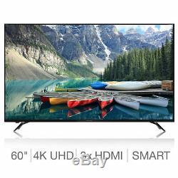 Design Ultrafin Aquos Net Plus Téléviseurs Led Intelligents À Del Ultra Edge Sans Fil 60 Pouces 4k 4k