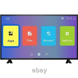 Electriq 58 Pouces 4k Ultra Hd Hdr Led Android Smart Tv Avec Freeview Hd