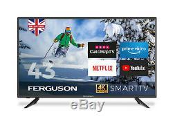 Ferguson 43 Pouces Led Smart Tv 4k Ultra Hd Tnt Hd Wifi 3 Hdmi Usb Nouveau 2020