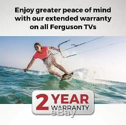 Ferguson 65 Inch 4k Ultra Hd Led Smart Tv Wi-fi 3 X Hdmi 2 X Usb Nouveau & Uk Made