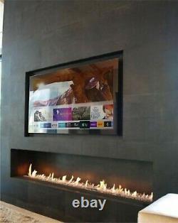 Frameless Mirror Tv Avec Samsung Qled 43 Pouces 4k Ultra Hd Hdr Smart Led Tv