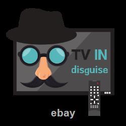 Frameless Mirror Tv Avec Samsung Qled 55 Pouces 4k Ultra Hd Hdr Smart Led Tv